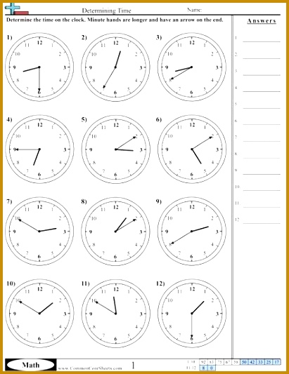 Blank Clock Worksheets 89984 Time Worksheets Selection Of Us Worksheets Useful for Maths