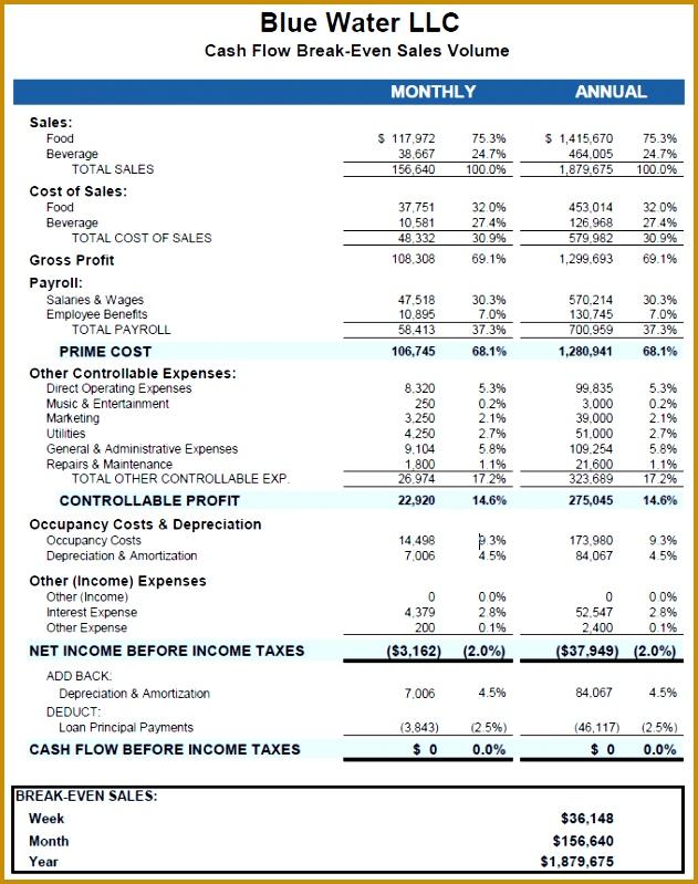 Business Financial Plan Template 799631