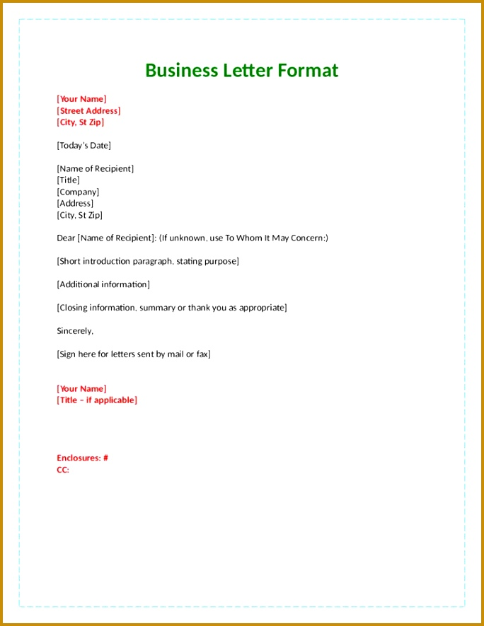 business letter format with attention line official part letters tnursetianti Home Design Idea Pinterest 885684