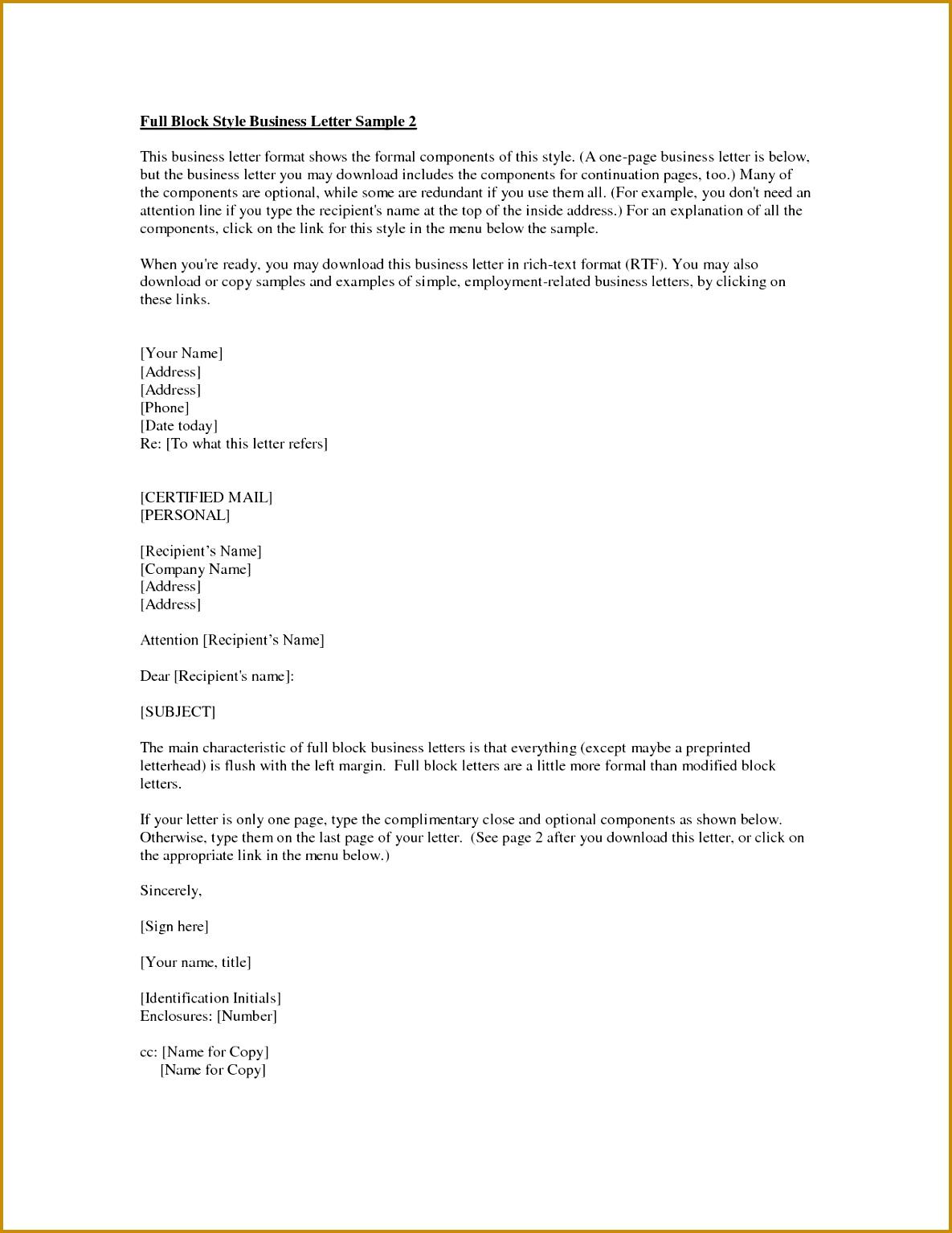 Business Letter Enclosure 15341185