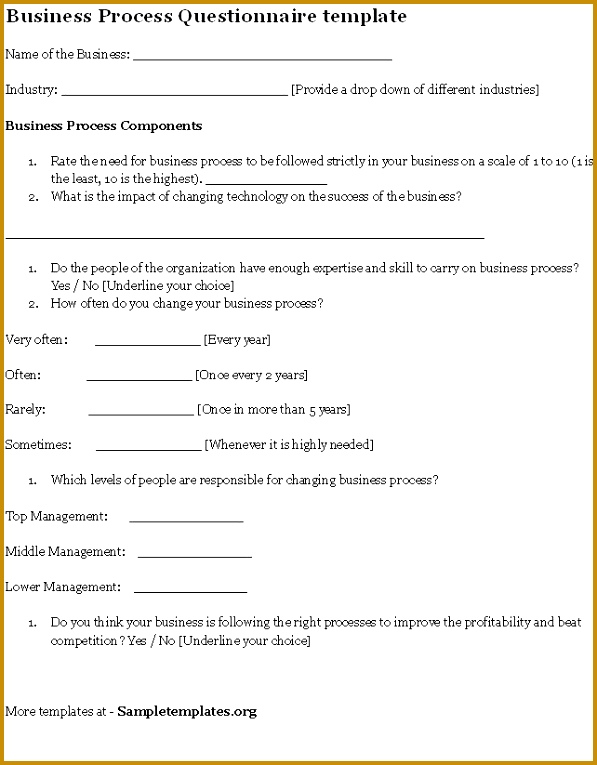 Business process impact analysis template 02575 business process business process impact analysis template 02575 business process questionnaire template business process 765597 accmission Images