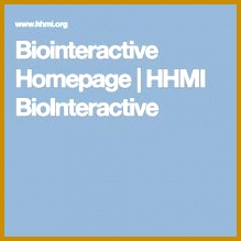 General Resouce Biointeractive Homepage 219219