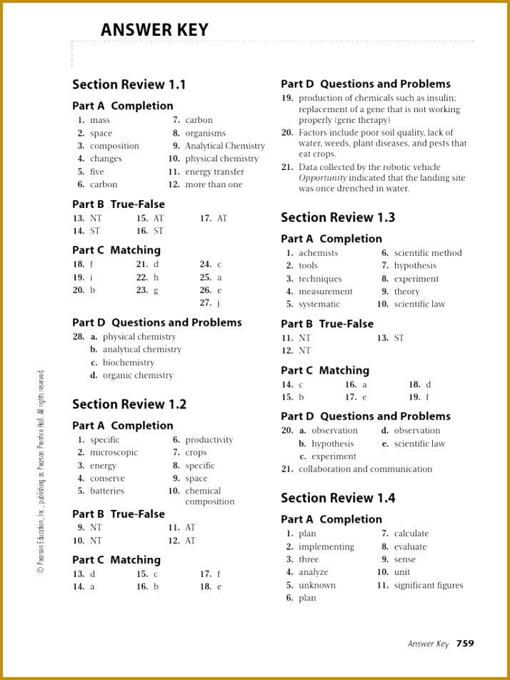 Biology Worksheet Answers Prentice Hall Worksheets for all 952714