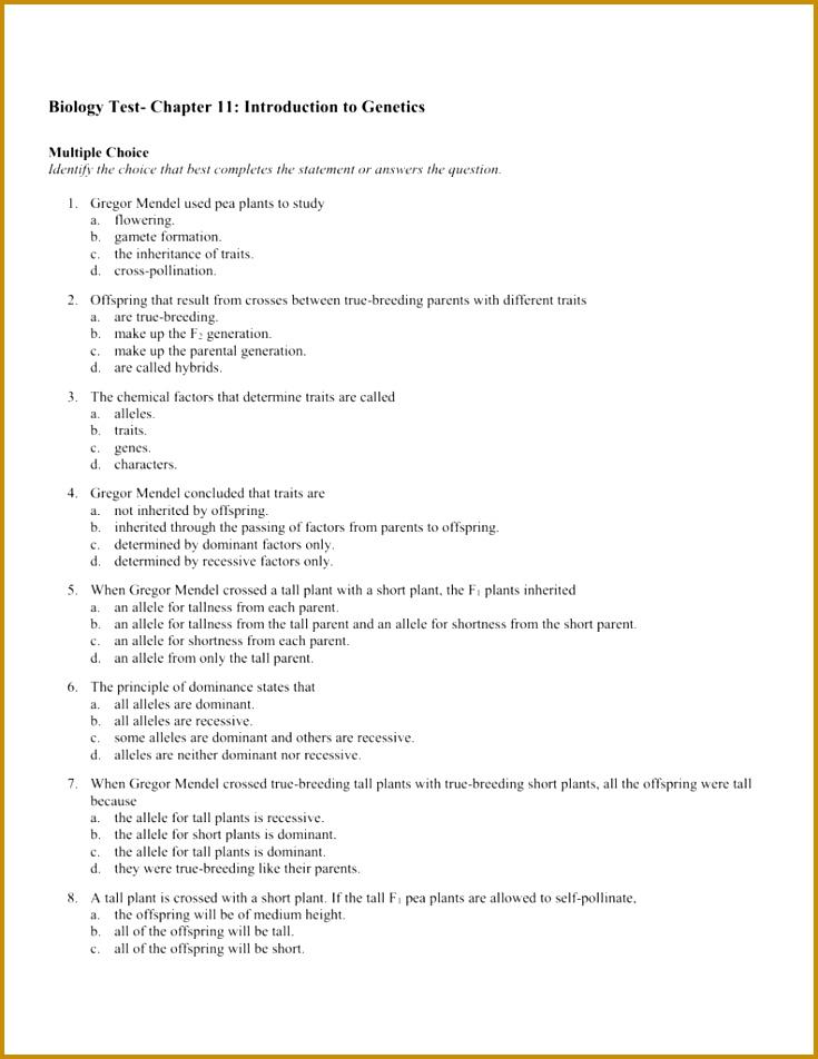 The Work Gregor Mendel Worksheet Answers Worksheets for all Download and Worksheets 952735