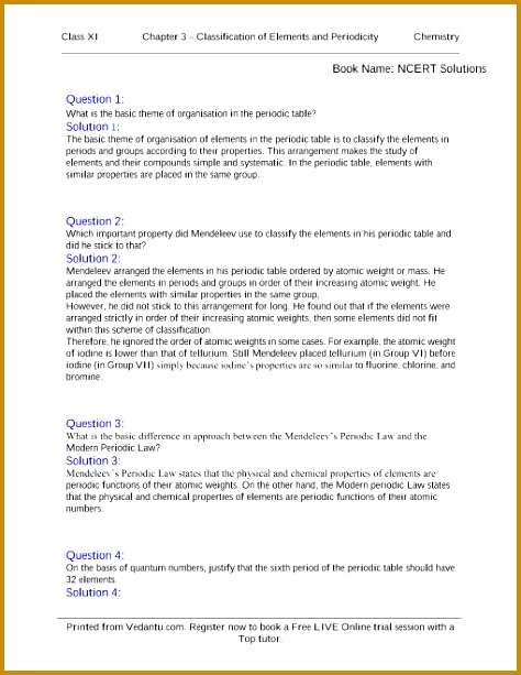 Chapter 03 Classification of Elements and Periodicity part 1 613474