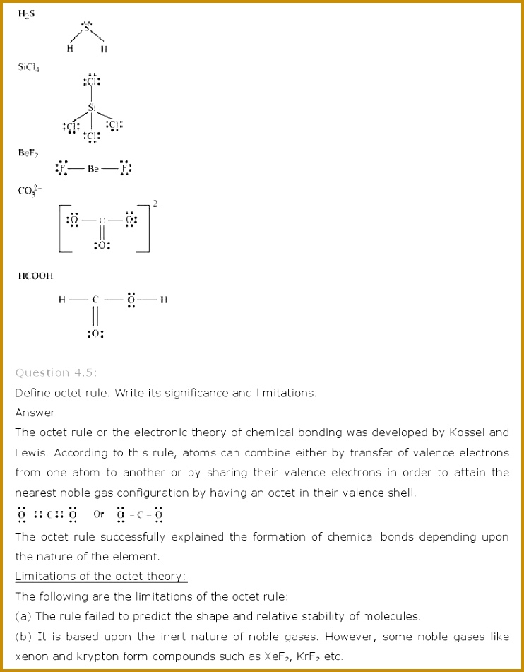 Chapter 4 atomic Structure Worksheet Answer Key 05394 Ncert solutions for Class 11th Chemistry Chapter 4 – Chemical