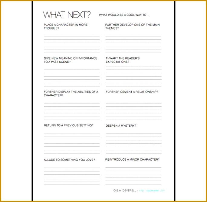 Plan What Happens Next Worksheet 669684