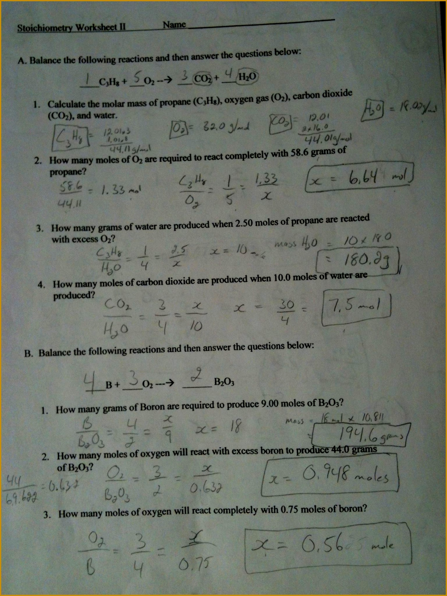 Limiting Reactants Chem Worksheet 12 3 Unique Grade 11 University Chemistry 14281904