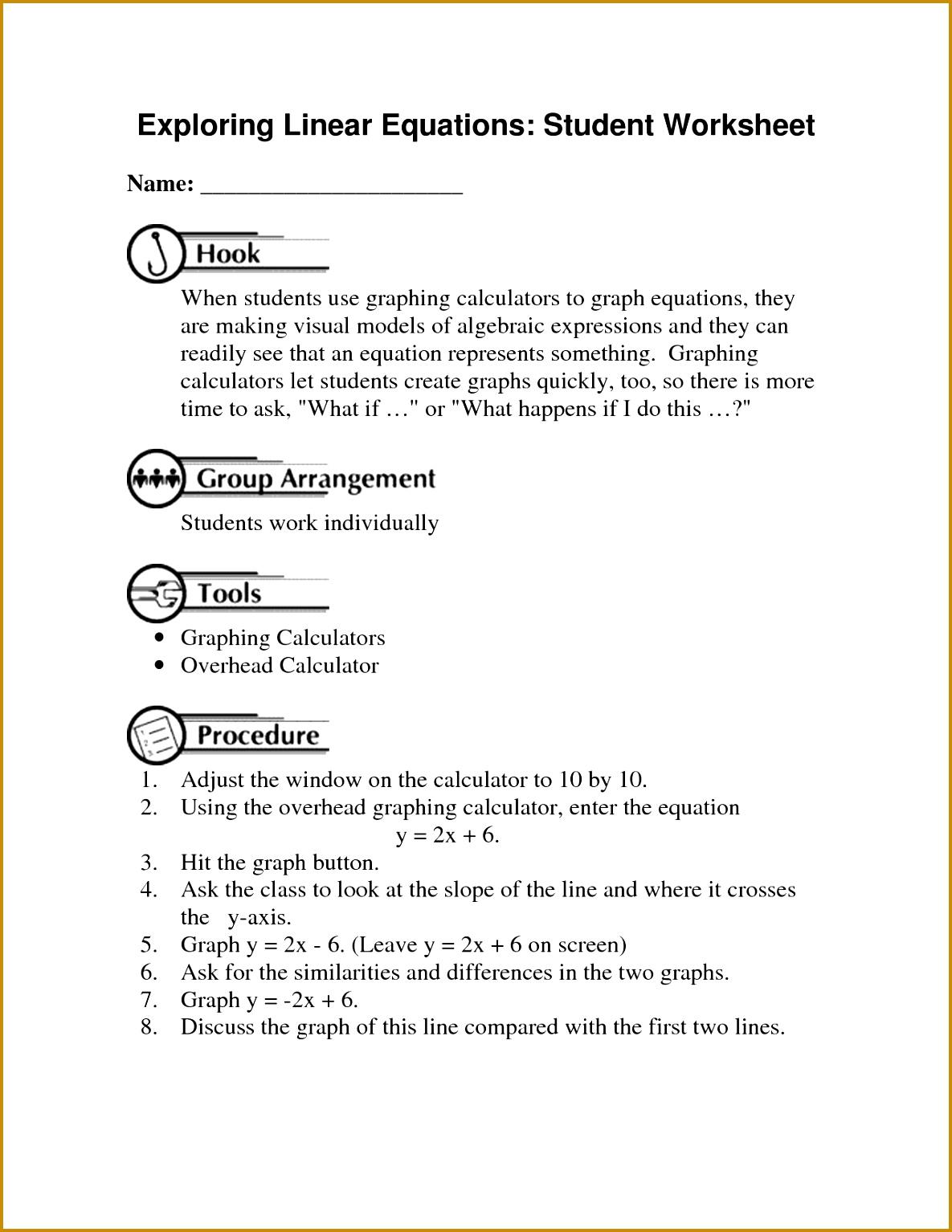 Algebraic Equations Chart 15341185