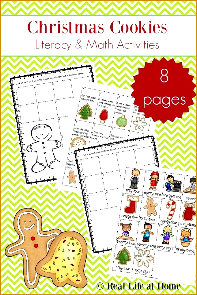 4 Free Christmas Printable Activities for Elementary Literacy and Math 1023683