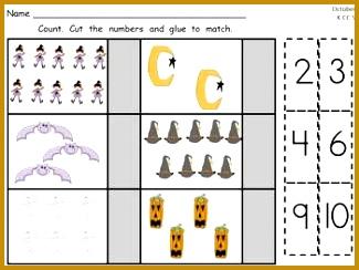FREE Kindergarten Cut and Paste mon Core Math Practice SAMPLER 244325