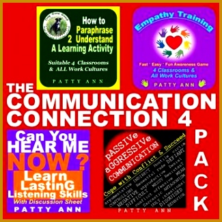 LEARN & UNDERSTAND The MUNICATION CONNECTION This 4 Pack is a unique bundle of munication 325325