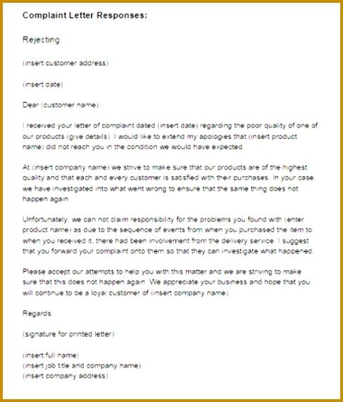response letter sample 001 571487