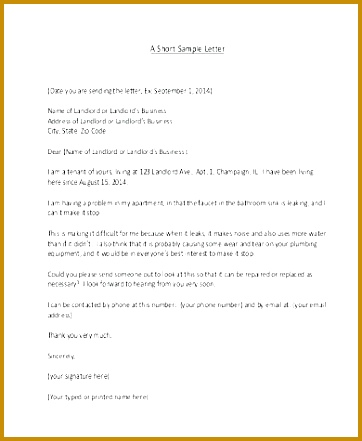 plaint letter business plaint letter example customer free pleasing letters to plaint letter to landlord about 362441
