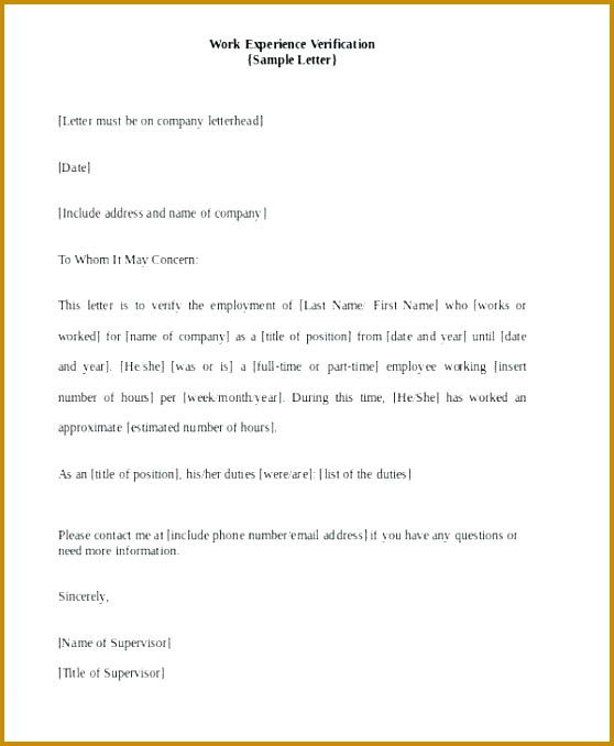 proof letters proof letters proof of work experience verification letter proof of in e letters templates proof 678558