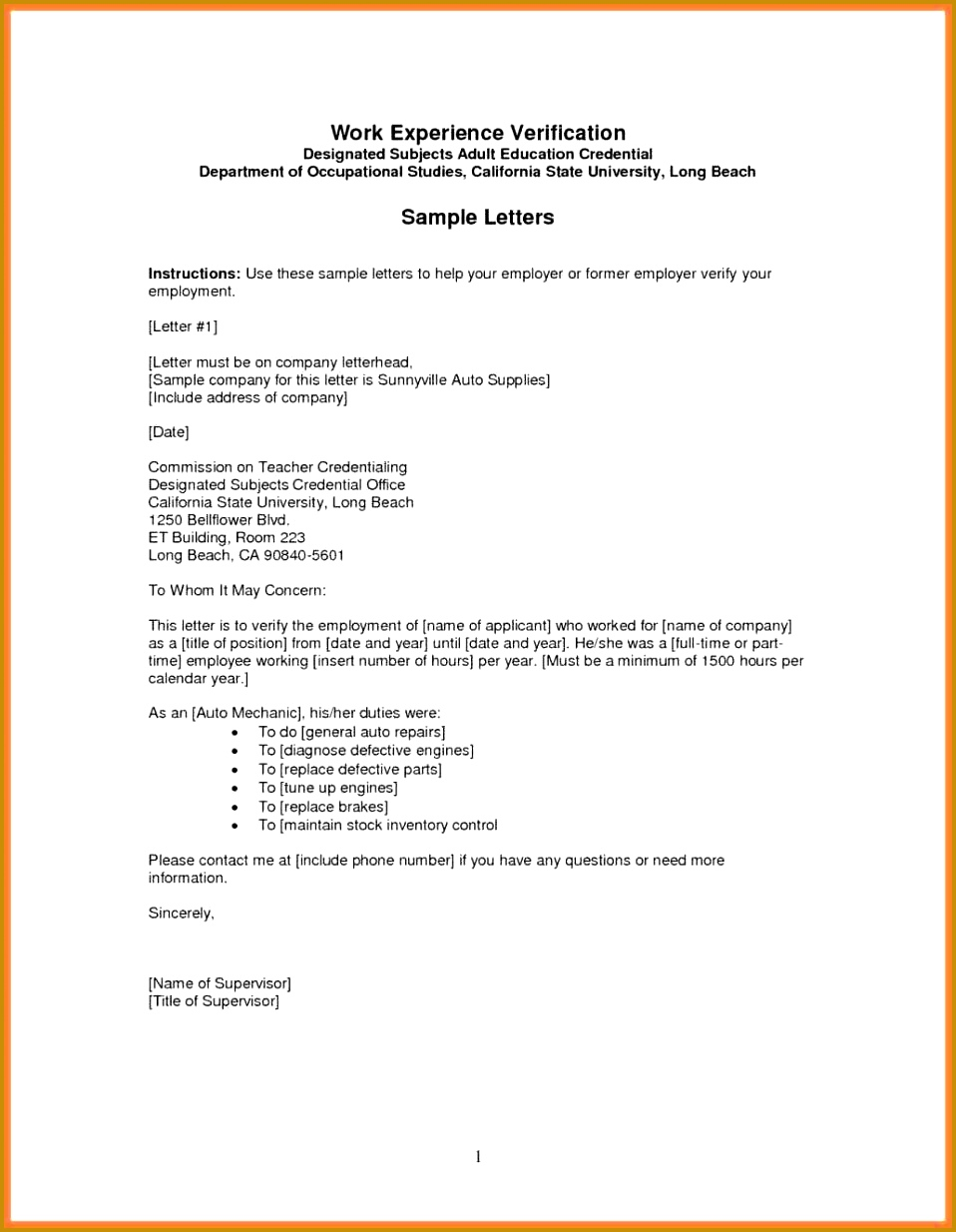 cashier resumes confirmation Employers Letter Confirming Employment of employment letter to employer cashier resumes from verifying 1234958