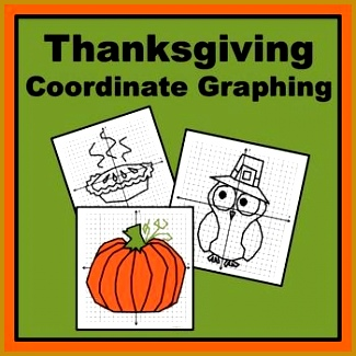 Coordinate Plane Worksheets 55580 Thanksgiving Coordinate Graphing