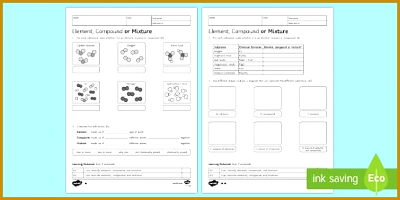 5 Counting Atoms Worksheet