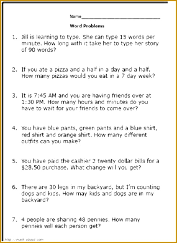 Boost Your 3rd Grader s Math Skills With These Printable Word Problems 814595