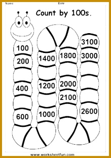 Counting worksheets by 10s 20s and 30s school Pinterest 219310