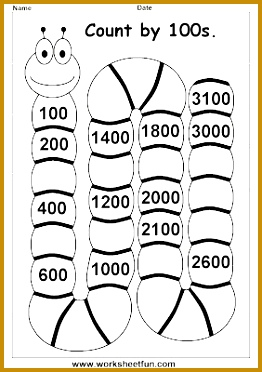 Skip Counting by 100 372262