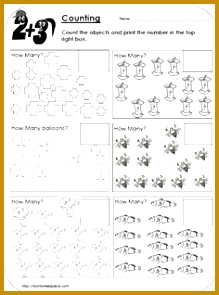 counting objects to 20 worksheets Google Search 295219