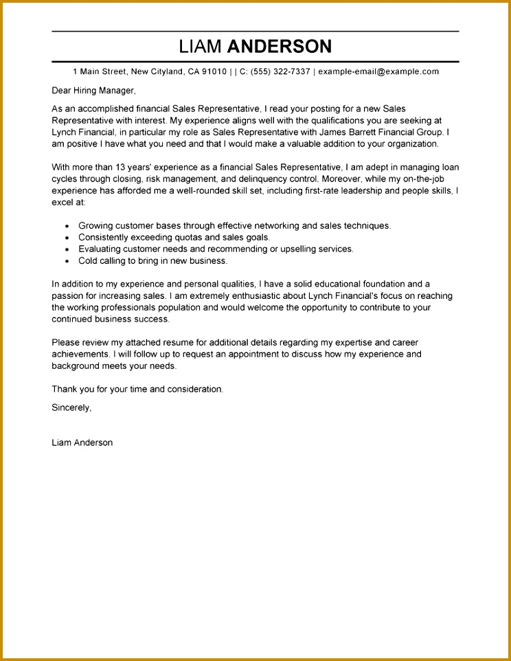 amazing cover letter examples for resumes resume samples enomwarbco format sample 962744