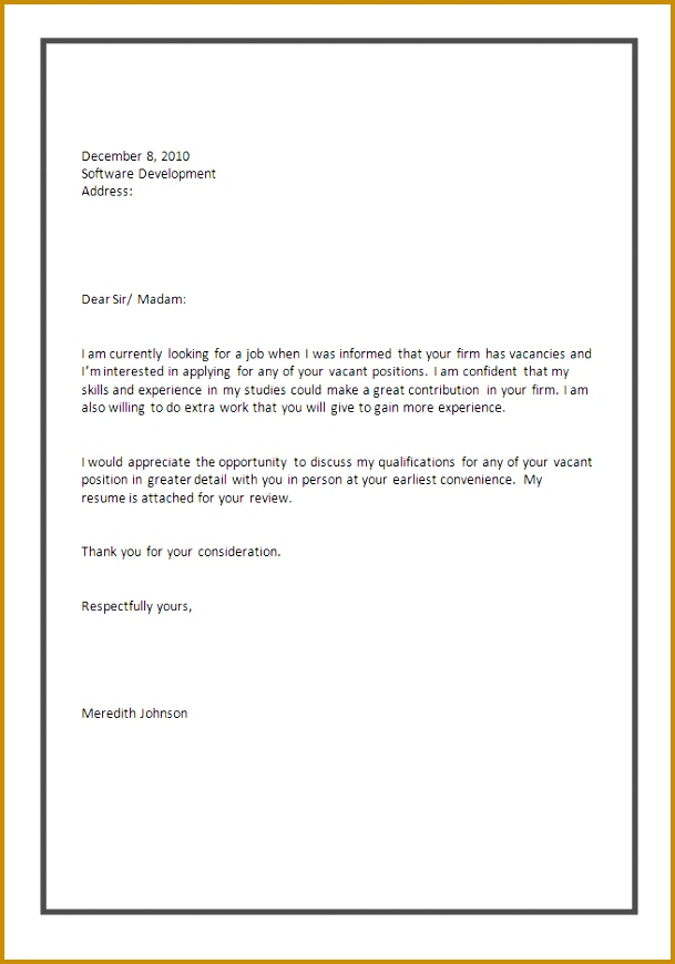 Great Sample Cover Letter For It Job Application 23 About Remodel Example Cover Letter For Internship with Sample Cover Letter For It Job Application 870609
