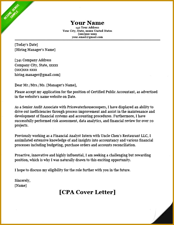 CPA Cover Letter 576744