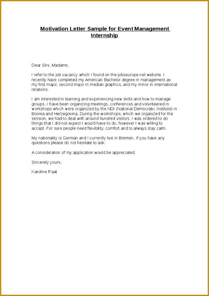 Gallery of Cover Letter Vs Motivation Letter 958677