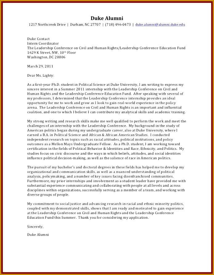 Motivation Letter Format A 894695
