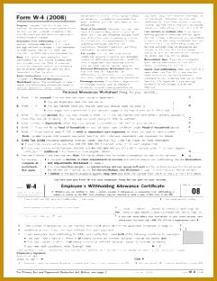 Form W 4 2008 312241