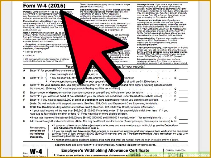 Image titled Adjust I R S Tax Deductions Step 4 507677