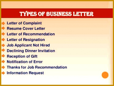 types of business letters 372279