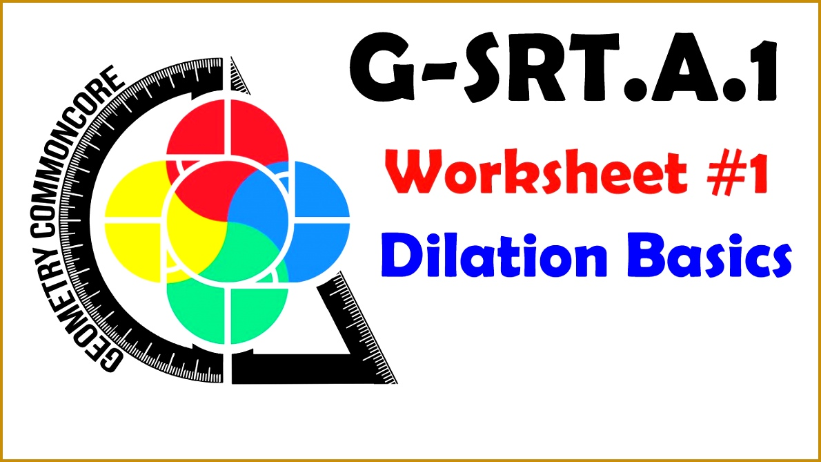 7 Dilations Worksheet with Answers