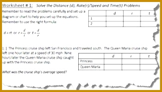 6 distance rate time word problems worksheet fabtemplatez distance rate and time worksheet 1 of 5 325184 ibookread PDF