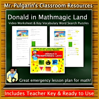 Donald Duck In Mathmagic Land Worksheet Math Movie Guides Resources   Lesson Plans Donald Duck In Mathmagic Land Worksheet on donald duck in mathmagic land worksheet