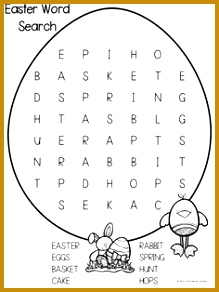 Have some Easter fun with your students with this freebie which contains An Easter Wordsearch AND Unscramble the Easter Words These activities are 292219