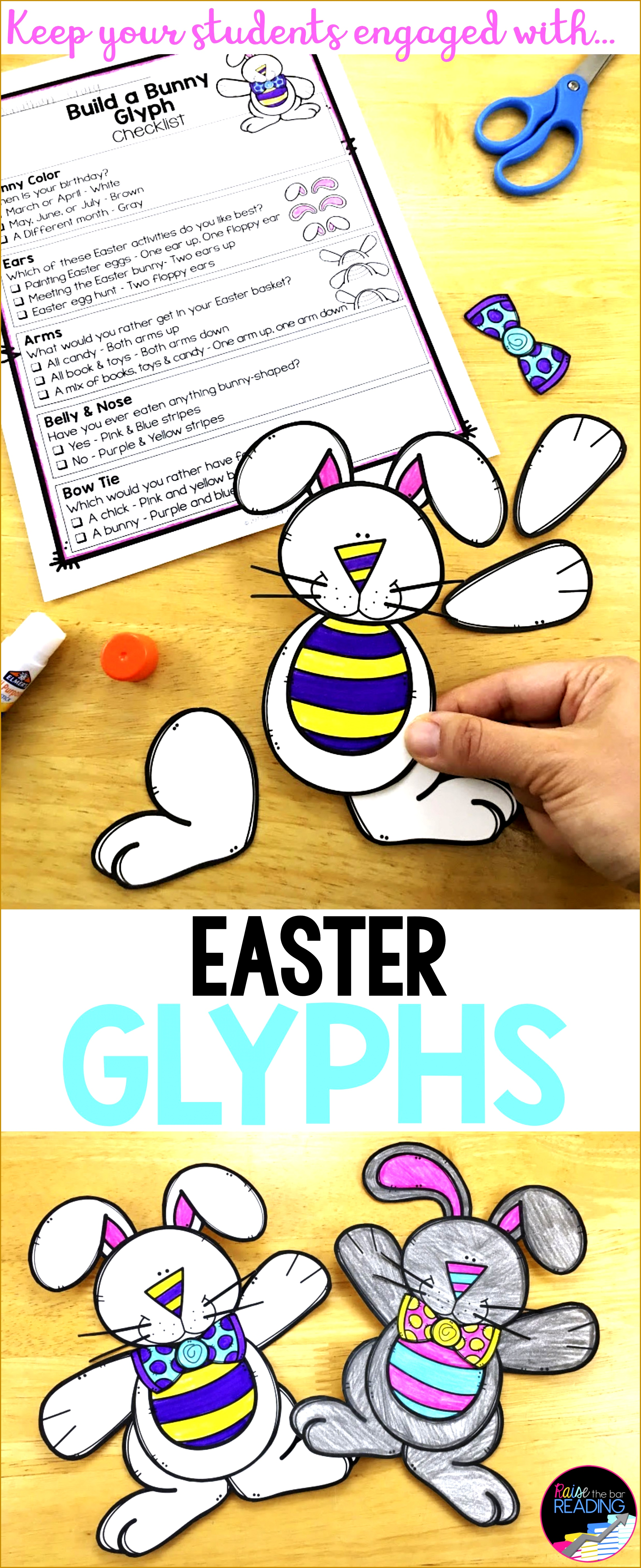 Easter Activities and Glyphs Easter Crafts Writing and more 56262301