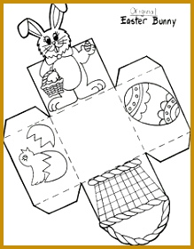 early play templates Want to make a simple easter basket Easter basket templates 219280