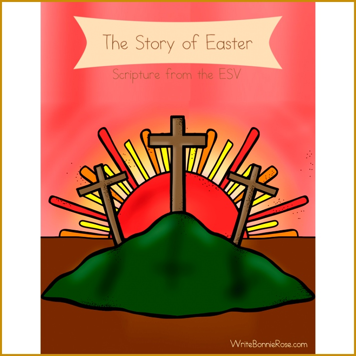 The Story of Easter Coloring Book with Print Copywork 711711