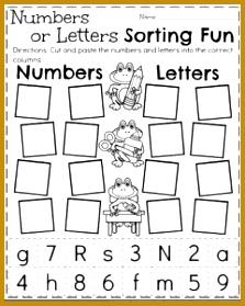 Back to School Kindergarten Worksheets 279223