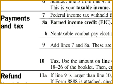 How to plete a 1040EZ Tax Form Do You Qualify for Earned In e Credit EIC 334446