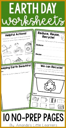 Earth Day Worksheets and Writing Prompts 424219