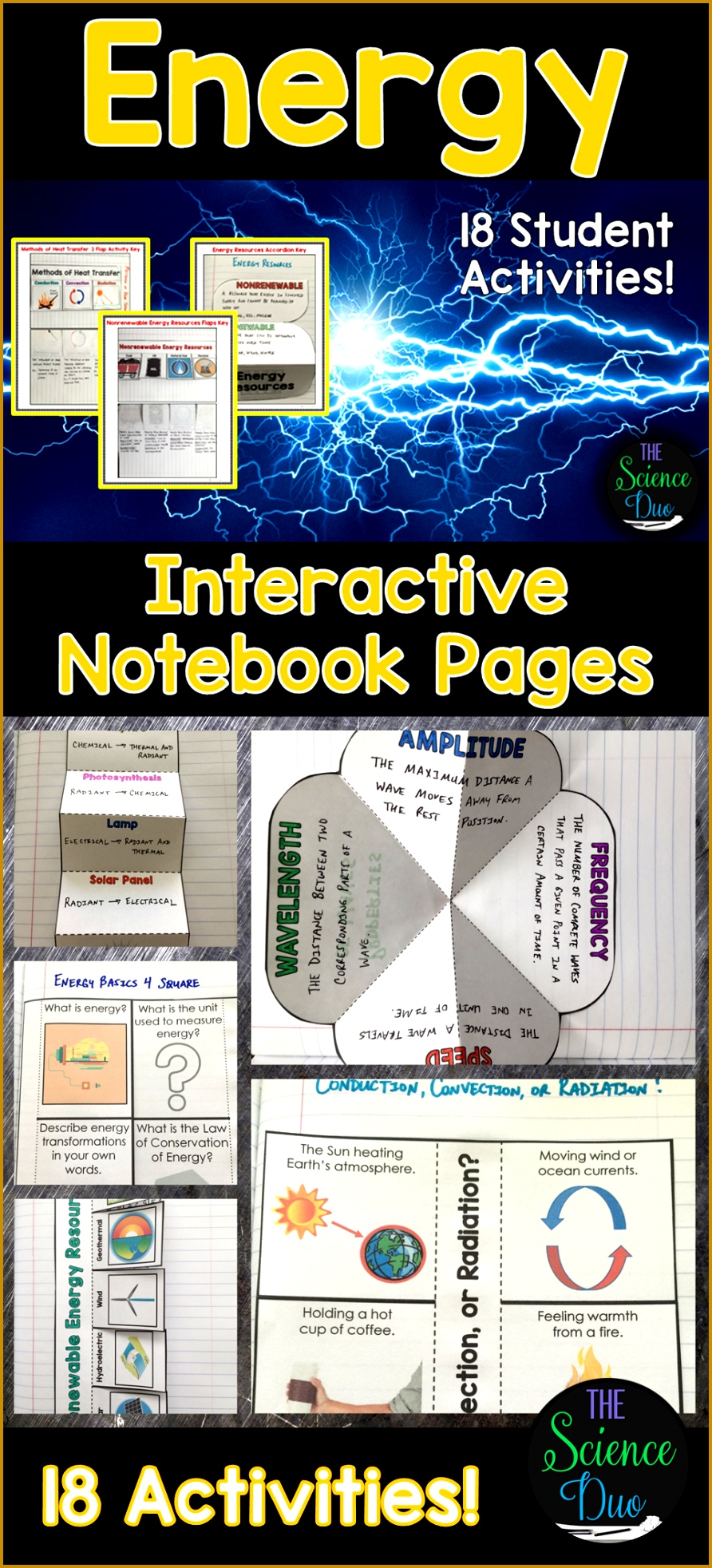 Energy Interactive Notebook Pages 1964892