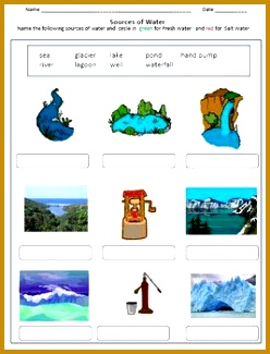 Air and Water Worksheets for Grade 2 & 3 248325