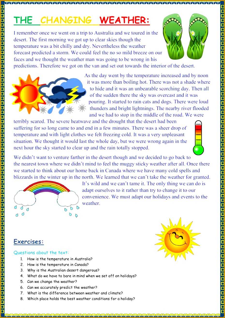 The weather interactive and able worksheet You can do the exercises online or the 1312930