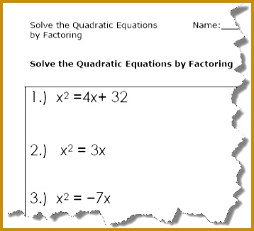 Quadratic Equations 326358