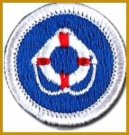 Lifesaving merit badge 195186