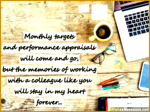 Farewell card message quote for colleagues and co workers 595446